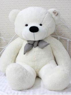 """Белый плюшевый медведь """"Умка"""" 160 см"""