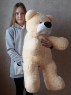 """Плюшевый медведь """"Персик"""" 100 см"""