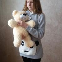 """Плюшевый медведь """"Персик"""" 50 см"""