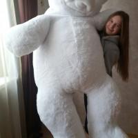 """Белый медведь """"Умка-Гигант"""" 200 см"""